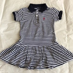 Other - Girls polo style dress size large (fits 3t/4t)